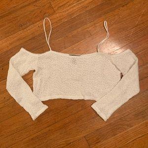 NWOT Crochet Top